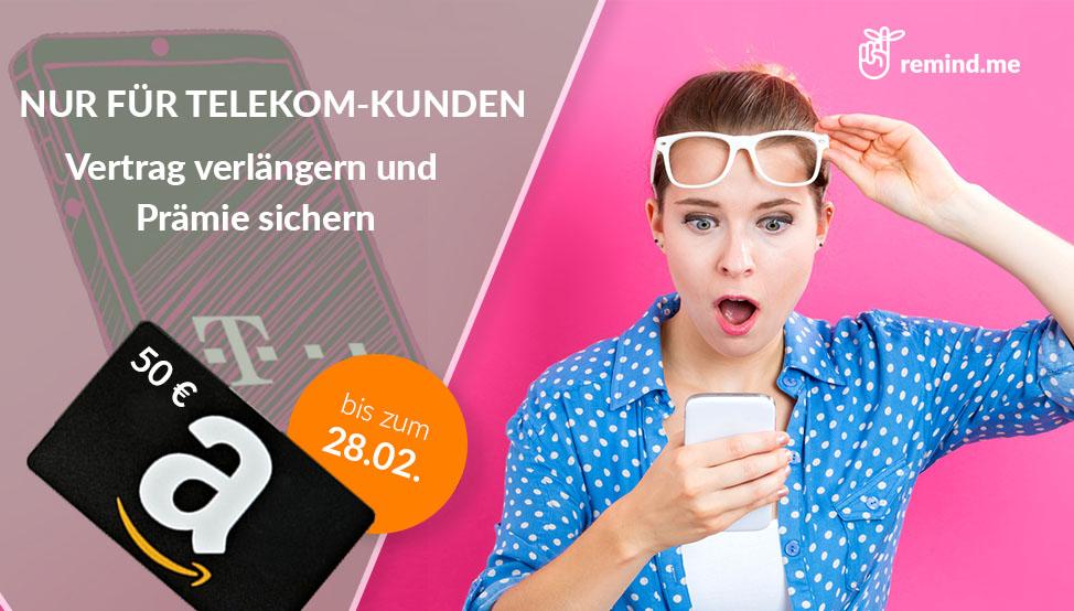 Telekom Vertragsverlängerung Mit Top Rabatten